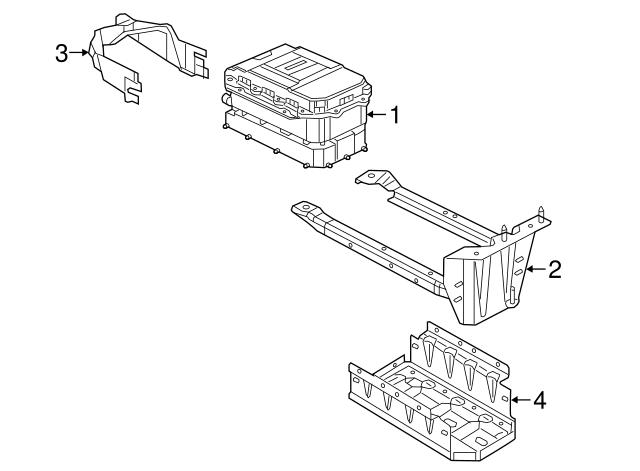 2018 Jeep Wrangler Battery Assembly 68381513aa