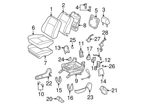TOYOTA Genuine 71873-21010-B1 Seat Cushion Shield