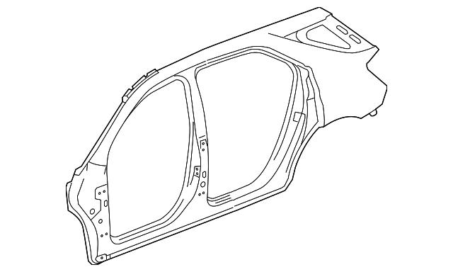 2010 2017 chevrolet equinox uniside panel 23218869 gm parts mania 2019 Chevy Equinox Redesign uniside panel gm 23218869