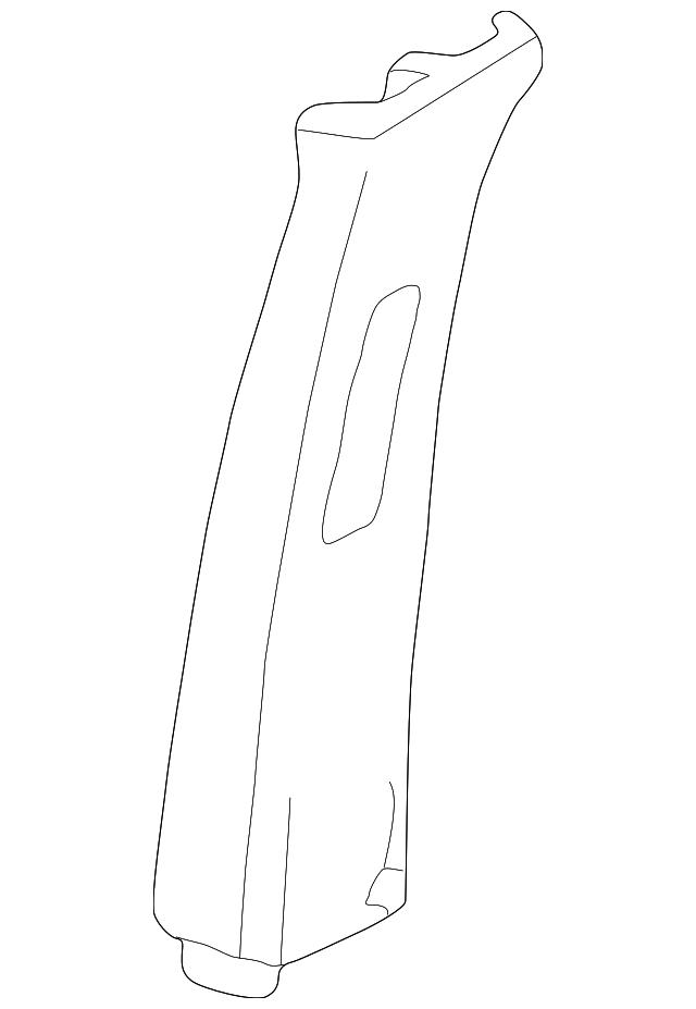 Genuine Honda 83161-S0X-A01ZA Cowl Side Lining