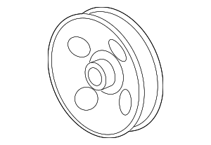 Pulley - GM (12610794)