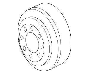 Pulley - GM (24576970)