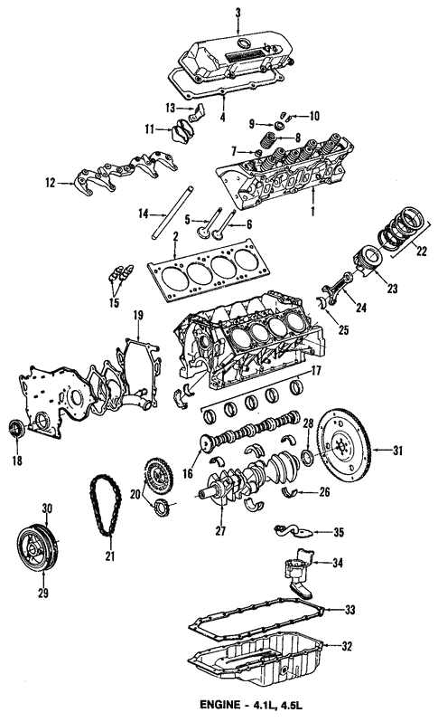 Oem 1990 Cadillac Allante Oil Pan Parts