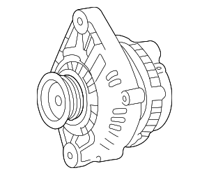 Alternator - Nissan (2310M-ZB00CRW)