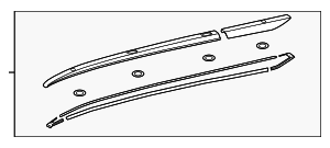Side Rail - Toyota (63470-0E161)