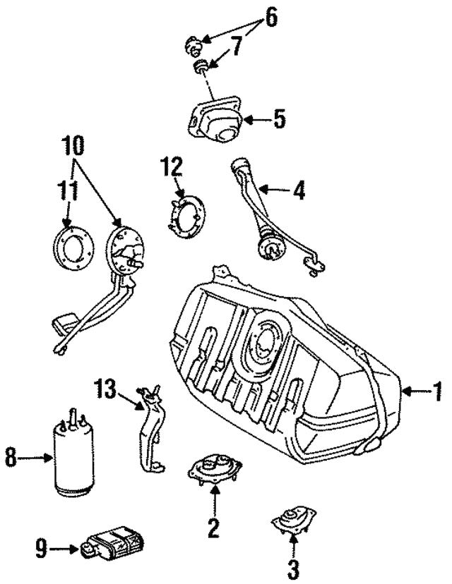 For 1994-2000 Lexus SC400 Power Steering Pressure Port Gasket Genuine 25253XW