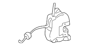 Lock - Mercedes-Benz (203-720-04-35)