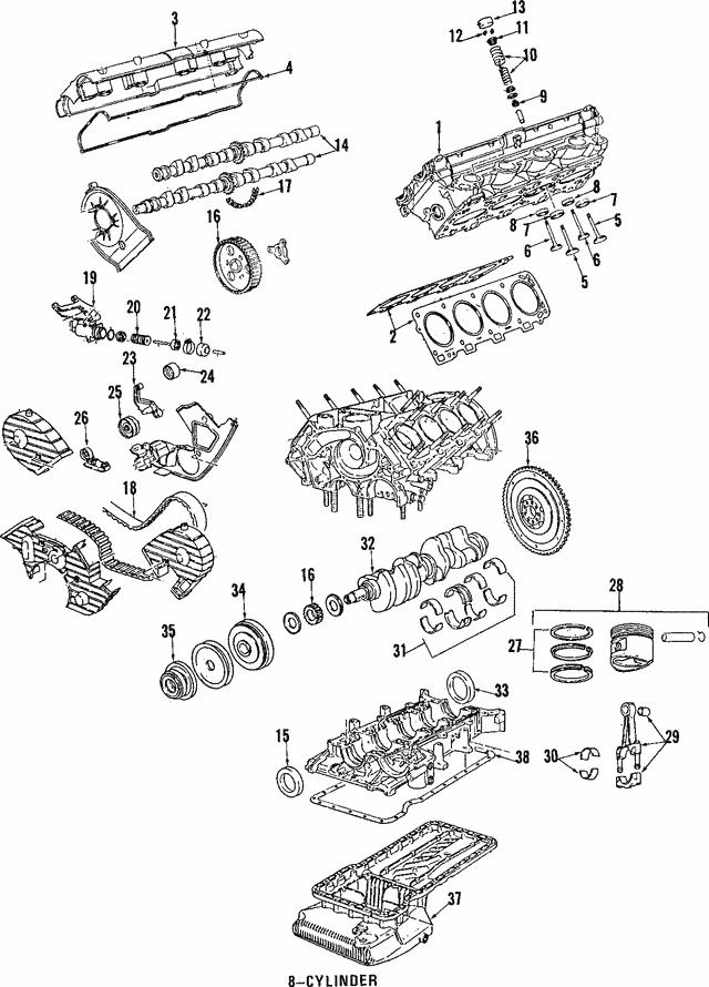 Engine Timing Chain - Porsche (944-105-501-05)