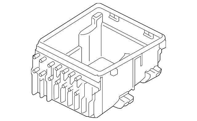house fuse box parts fuse box audi  8j0 937 124  audi usa parts  fuse box audi  8j0 937 124  audi
