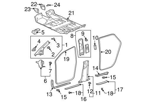 Lexus Rx300 Body Parts Diagram together with 2001 Jeep Cherokee Sport Exhaust Diagram together with 2007 Acura Mdx Stereo Wiring Diagram as well Gmc Wiring Diagram Lexus Rx Html besides Lexus Rx400h Suspension Diagram. on lexus rx 350 electrical wiring diagram
