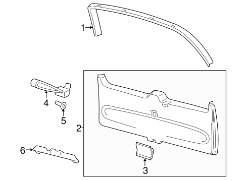 Interior Trim For 2013 Lincoln Navigator Silver State Ford Parts