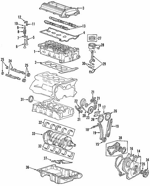 Engine For 2009 Saturn Vue