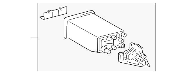 Toyota 77746-04010 Vapor Canister Filter