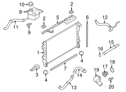 Wiper & Washer Components for 2015 Ford Flex #2