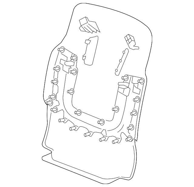 Gm Seat Back Panel 23365184 furthermore Post 2001 Mustang Parts Diagram 430607 also 6ptd9 Dodge Cara Location Map Sensor 97 Dodge Caravan 3 furthermore Gm  partment Door 19181760 furthermore Cadillac Srx Parts Ebay Html. on buick struts replacement