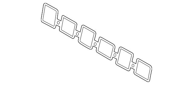 Engine Intake Manifold Gasket Volkswagen 03H 133 237 D