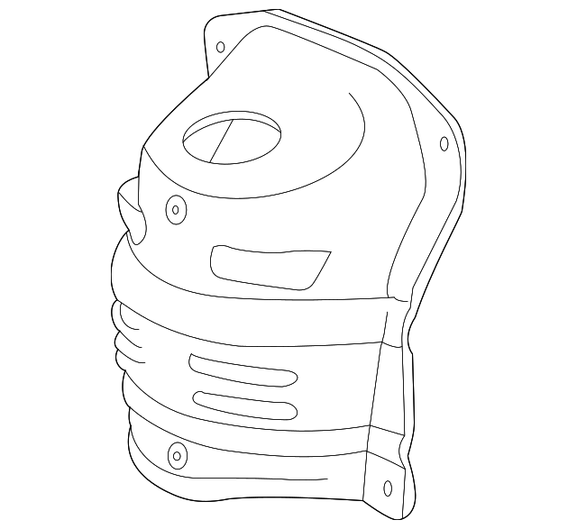 2014 Scion Iq Transmission: Cover, Converter - Honda (18120-RBJ-A01)