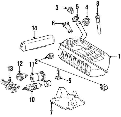 Emission Components For 1997 Mercedes Benz Sl 320 Oemercedes