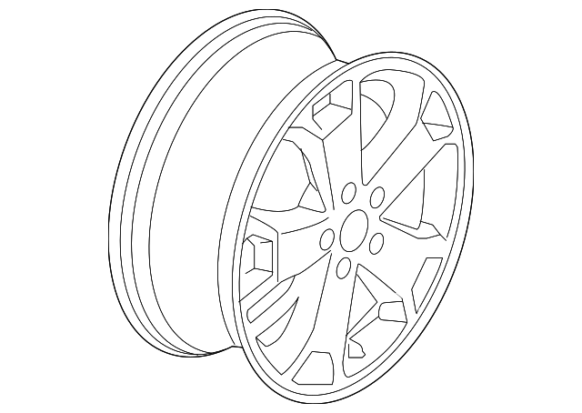 Genuine Oem 2014 2018 Ford Transit Connect Wheel Alloy