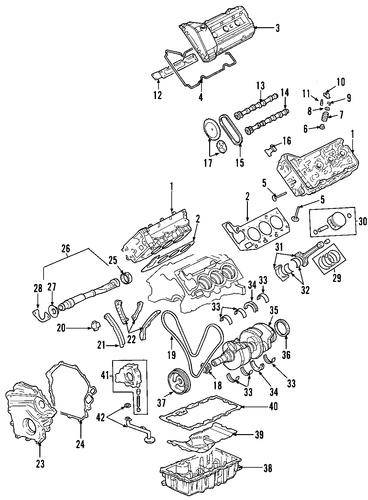oem 2001 oldsmobile aurora engine parts