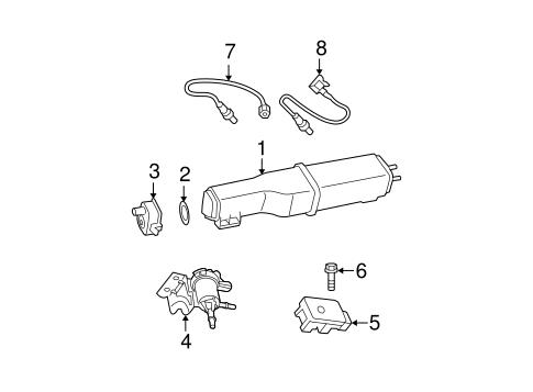 Emission Components For 2009 Dodge Ram 1500