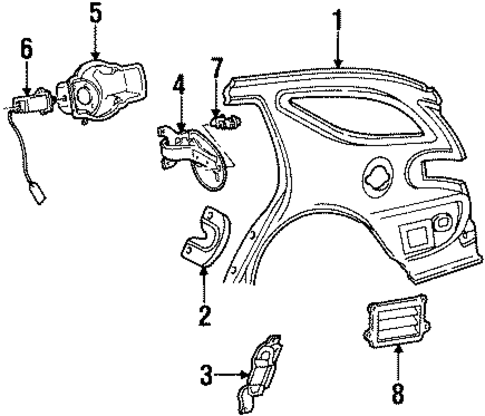 2004 Suburban Key Wont Turn In Ignition besides 2nlls 95 Ford Taurus Ignition Switch Lock Cylinder Actuator Pin additionally Fuel Door Scat furthermore 9281312 besides ASIC Mc33035 Based Brushless Controller Circuit Diagram. on ignition lock cylinder