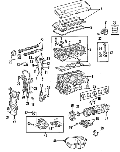 ENGINE/ENGINE for 2015 Scion xB #1
