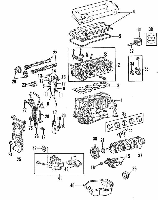Valve Cover - Toyota (11201-0H061)