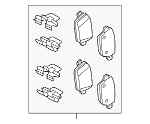 Brake Pads - Land-Rover (LR023888)
