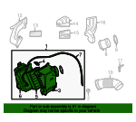 Air Cleaner Assembly - Audi (079-133-837-L)