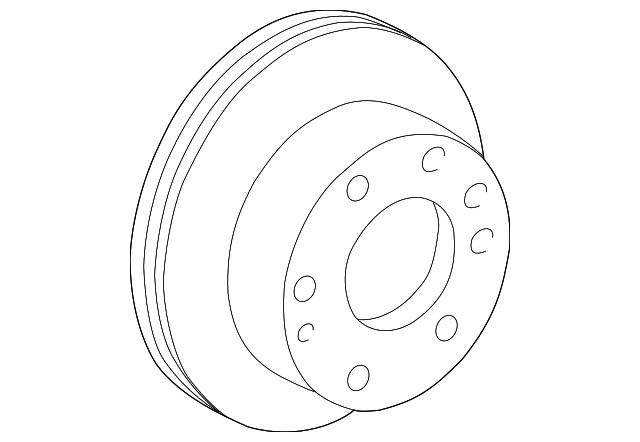 2001 2019 Gm Rotor 15733625