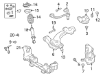 Lower Ball Joint - Ford (3W1Z-3050-B)