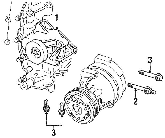 Front Reinforced Bolt GM 11562302: Buick Enclave Cxl V6 Firing Order Diagram At Sergidarder.com