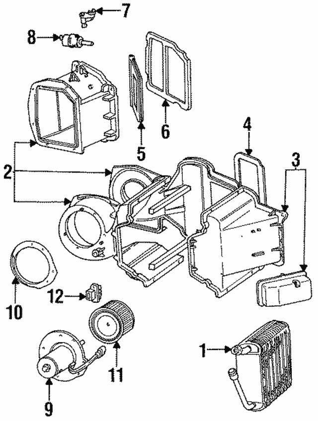 1992 1997 Ford Shaft E7tz 19a580 A