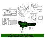 Housing-A/C And Heater - Mopar (68083237AB)