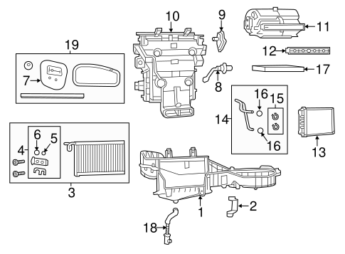 Heater For 2012 Jeep Grand Cherokee Quirk Parts. Hvacheater For 2012 Jeep Grand Cherokee Genuine Oem Parts 1. Jeep. Jeep Hvac Parts Diagram At Scoala.co