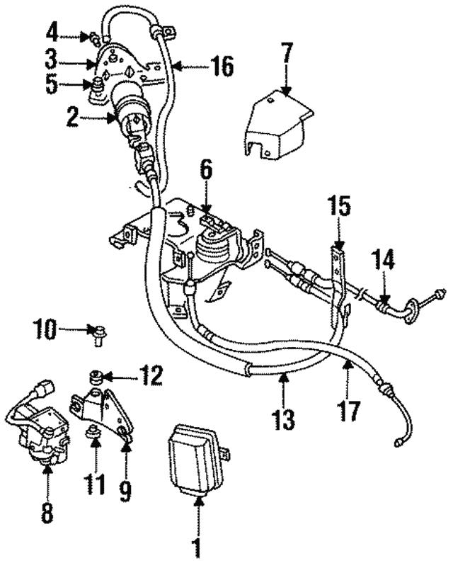 1992 2019 Mitsubishi Tail Lamp Assembly Bolt Ms240142