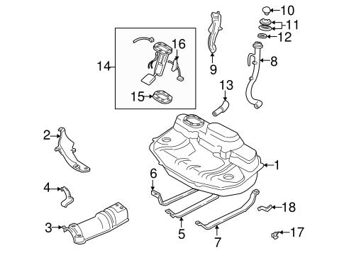 fuel system components for 1996 subaru impreza #0