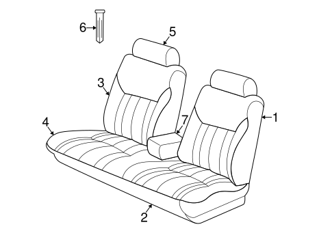 Front Seat Components For 1999 Dodge Intrepid