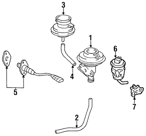 Toyota 89465-29755 Oxygen Sensor