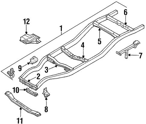 Frame Components For 1997 Nissan Pickup