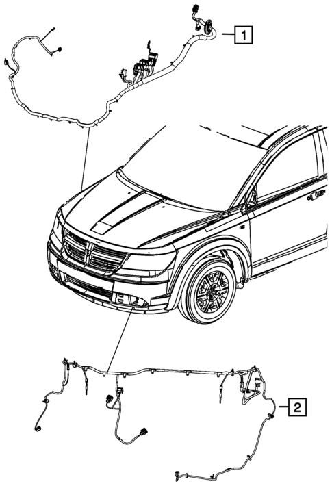 Wiring Headlamp To Dash For 2018 Dodge Journey