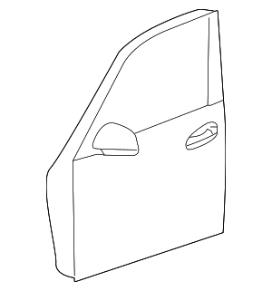 Door Shell - Mercedes-Benz (253-720-03-05)