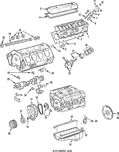 service manual  1985 buick riviera engine diagram or
