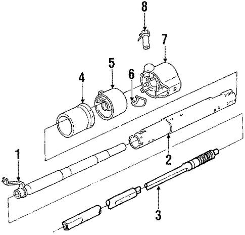 Standard Steering Column Scat