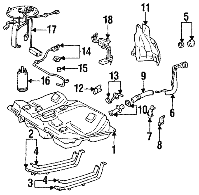 1993 Toyota Celica Engine Diagram