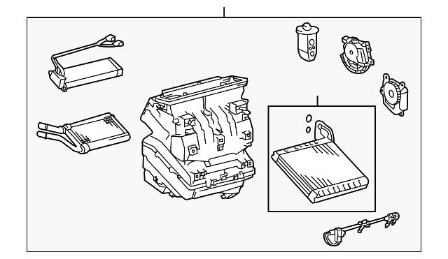 Toyota 88403-02010 A//C Compressor Clutch Hub