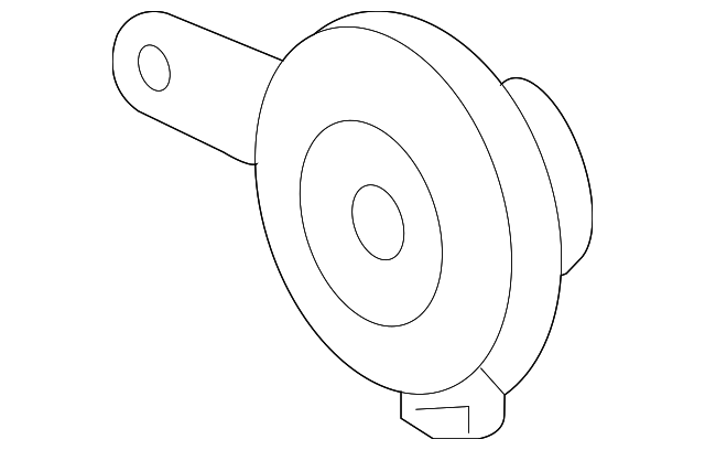 Horn Assembly (Low) (Mitsuba)