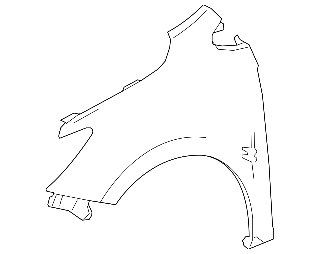 2016 2019 Chevrolet Cruze Fender 84259707