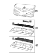 Cargo Tray - Mopar (6EQ85DX9AD)